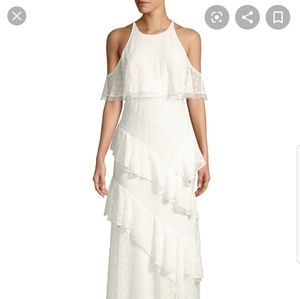 NWT BCBGMAXAZRIA White dress size 0